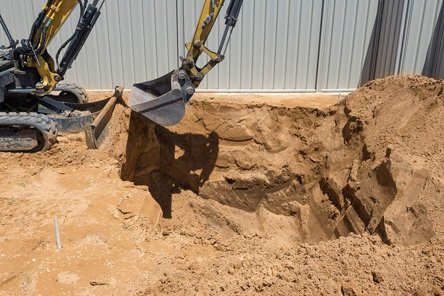 Installation de fosses toutes eaux | ADA Réseaux