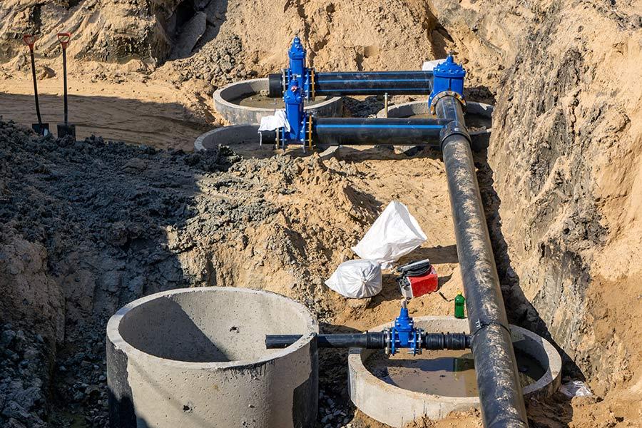 Faites appel à un professionnel pour l'installation de fosses toutes eaux | ADA Réseaux